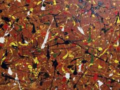 Troy Smith ACRYLIC PAINTING BY ARTIST TROY SMITH 36 X 60 CONTEMPORARY ART ABSTRACTION - 1065124