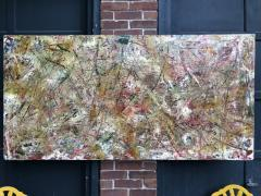 Troy Smith ACRYLIC PAINTING BY ARTIST TROY SMITH 36 X 72 CONTEMPORARY ART ABSTRACTION - 1065140