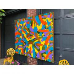 Troy Smith ACRYLIC PAINTING BY ARTIST TROY SMITH 60 X 72 CONTEMPORARY ART ABSTRACTION - 1066752