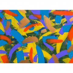 Troy Smith ACRYLIC PAINTING BY ARTIST TROY SMITH 60 X 72 CONTEMPORARY ART ABSTRACTION - 1066756