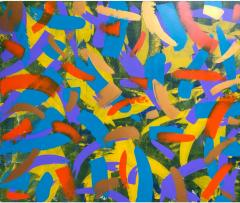 Troy Smith ACRYLIC PAINTING BY ARTIST TROY SMITH 60 X 72 CONTEMPORARY ART ABSTRACTION - 1076093
