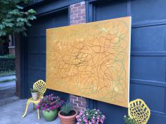 Troy Smith ACRYLIC PAINTING BY ARTIST TROY SMITH 60 X 84 CONTEMPORARY ART ABSTRACTION - 1075827