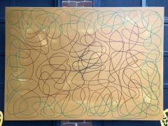 Troy Smith ACRYLIC PAINTING BY ARTIST TROY SMITH 60 X 84 CONTEMPORARY ART ABSTRACTION - 1075833