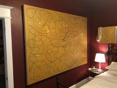 Troy Smith ACRYLIC PAINTING BY ARTIST TROY SMITH 60 X 84 CONTEMPORARY ART ABSTRACTION - 1075843