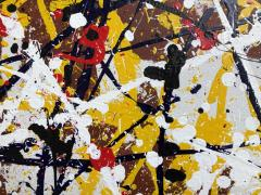 Troy Smith ACRYLIC PAINTING BY ARTIST TROY SMITH 61 X109 CONTEMPORARY ART ABSTRACTION - 1065300