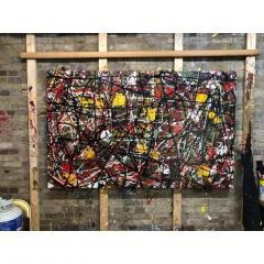 Troy Smith ACRYLIC PAINTING BY ARTIST TROY SMITH CONTEMPORARY ART ABSTRACTION - 1080352