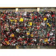 Troy Smith ACRYLIC PAINTING BY ARTIST TROY SMITH CONTEMPORARY ART ABSTRACTION - 1080353