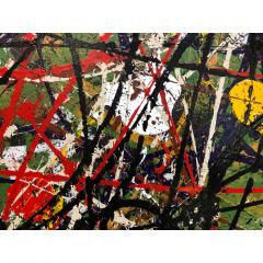 Troy Smith ACRYLIC PAINTING BY ARTIST TROY SMITH CONTEMPORARY ART ABSTRACTION - 1080356