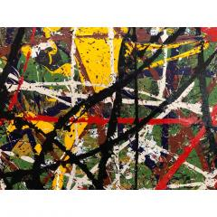 Troy Smith ACRYLIC PAINTING BY ARTIST TROY SMITH CONTEMPORARY ART ABSTRACTION - 1080357