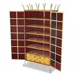 Troy Smith CROWN JEWEL CABINET BY ARTIST TROY SMITH 100 CUSTOM MADE CONTEMPORARY CABINET - 1034765
