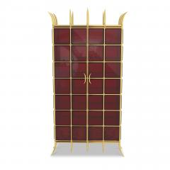 Troy Smith CROWN JEWEL CABINET BY ARTIST TROY SMITH 100 CUSTOM MADE CONTEMPORARY CABINET - 1034767