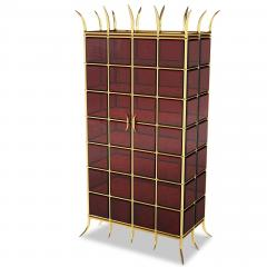 Troy Smith CROWN JEWEL CABINET BY ARTIST TROY SMITH 100 CUSTOM MADE CONTEMPORARY CABINET - 1034769