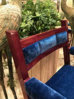 Troy Smith Contemporary Purple Heart Chair by Artist Troy Smith - 989881