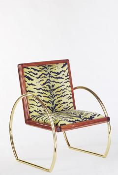 Troy Smith D Ring Lounge Chair - 360950