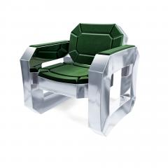 Troy Smith FACET LOUNGE CHAIR BY ARTIST TROY SMITH CONTEMPORARY DESIGN HANDMADE - 1034790