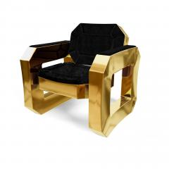 Troy Smith FACET LOUNGE CHAIR BY ARTIST TROY SMITH CONTEMPORARY DESIGN HANDMADE - 1034793