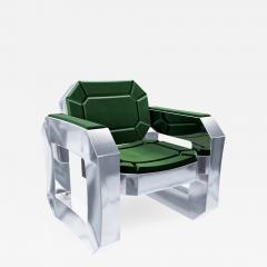 Troy Smith FACET LOUNGE CHAIR BY ARTIST TROY SMITH CONTEMPORARY DESIGN HANDMADE - 1035558