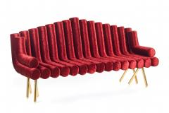 Troy Smith Flute Sofa - 360935