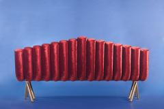 Troy Smith Flute Sofa - 360940