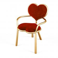 Troy Smith HANDMADE CONTEMPORARY MY BIG LITTLE HEART CHAIR BY ARTIST TROY SMITH - 942918