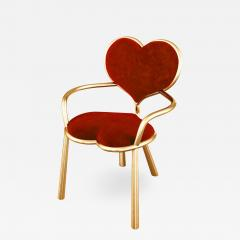 Troy Smith HANDMADE CONTEMPORARY MY BIG LITTLE HEART CHAIR BY ARTIST TROY SMITH - 944884