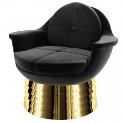 Troy Smith IRIS LOUNGE CHAIR BY ARTIST TROY SMITH CONTEMPORARY DESIGN - 1034857