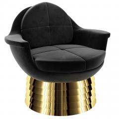 Troy Smith IRIS LOUNGE CHAIR BY ARTIST TROY SMITH CONTEMPORARY DESIGN - 1034859
