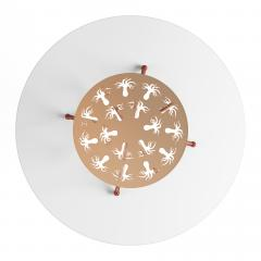 Troy Smith OCTOPUS FOYER TABLE BY ARTIST TROY SMITH CONTEMPORARY DESIGN ARTIST PROOF - 1035058