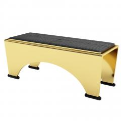 Troy Smith SOLID BRONZE BENCH BY ARTIST TROY SMITH LIMITED EDITION CONTEMPORARY DESIGN - 1034902