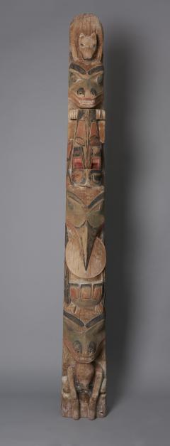 Tsimshian Tribe Totem Pole - 1042994