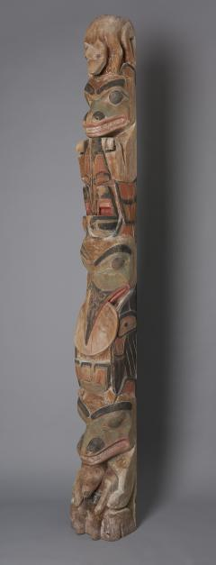 Tsimshian Tribe Totem Pole - 1042995