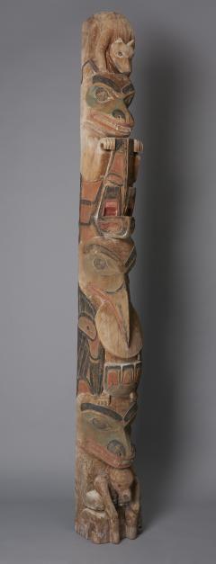 Tsimshian Tribe Totem Pole - 1042996