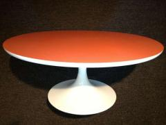 Tulip Table Orange Top - 1681292