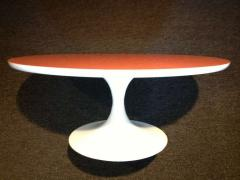 Tulip Table Orange Top - 1681293
