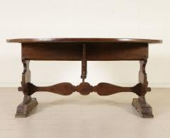 Tuscan Walnut drop leaf Center table circa 1850 - 703007