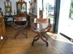 Tuscan folding chairs Circa 1860 - 1126010