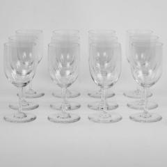 Twelve Baccarat Perfection Red Wine Glasses - 1159274