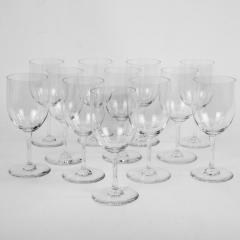 Twelve Baccarat Perfection Red Wine Glasses - 1159275