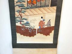 Two Antique Japanese Hanging Scroll Paintings - 1247771