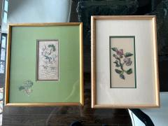 Two Framed Chinese Antique Textile Fragments Qing Dynasty Provenance - 1766535