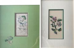 Two Framed Chinese Antique Textile Fragments Qing Dynasty Provenance - 1766647