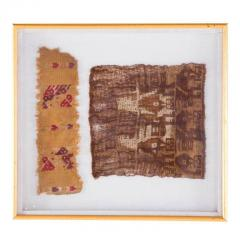 Two Framed Pre Columbian Textiles - 233964