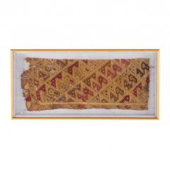 Two Framed Pre Columbian Textiles - 233965