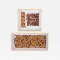 Two Framed Pre Columbian Textiles - 234140