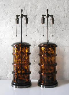 Two Glass Lamps - 754187