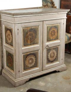Two Hand Painted 19th Century Tuscan Cabinets - 1417771