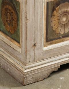 Two Hand Painted 19th Century Tuscan Cabinets - 1417772