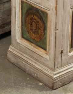 Two Hand Painted 19th Century Tuscan Cabinets - 1417773