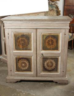 Two Hand Painted 19th Century Tuscan Cabinets - 1417774