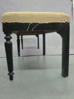 Two Large French Carved Wood Modern Neoclassical Benches - 1787310
